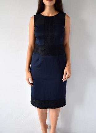 Платье с кружевом dp
