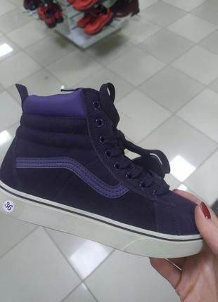 Зимние ботинки vans old school