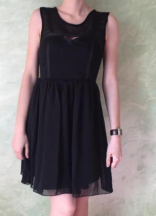 Нарядное платье tally weigl, размер xs, нарядное, шифоновое