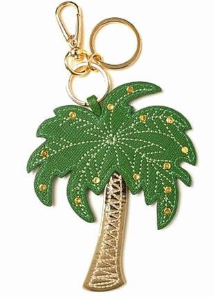 Брелок для ключей  или на сумку с карабином, пальма 🌴, h&m