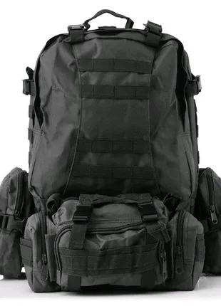 Большой тактический рюкзак. 55 литров 🔥🔥🔥🚀🚀🚀