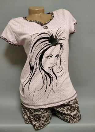 Пижамка женская отличного качества размеры 46-56