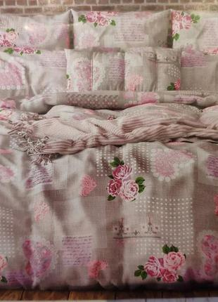 Постельный комплект двухспальный постельное белье