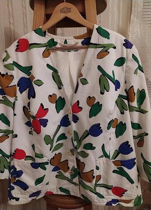Шикарный пиджак блейзер большого размера  jumo