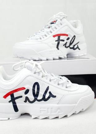Fila disruptor 2 ii script (оригинал!) женские кроссовки фила ...