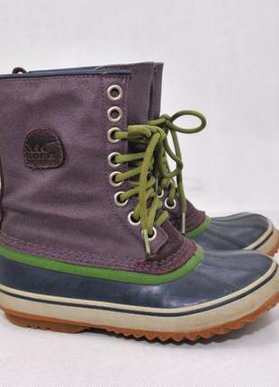 37/23, SOREL женские термо ботинки сапоги как north columbia с...