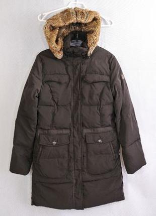 TOM TAILOR L, женский зимний плащ пуховой, пуховик куртка, парка