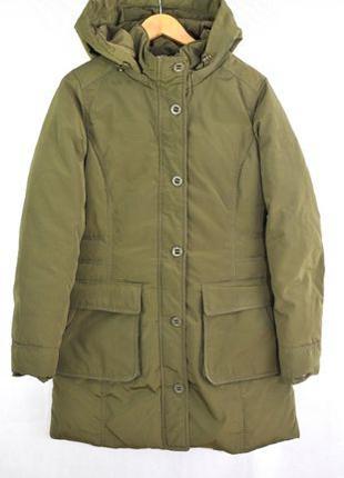 TOMMY HILFIGER L, пальто парка женская пуховая куртка зимняя п...