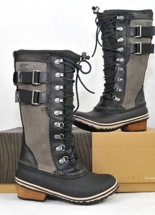 36, SOREL Conquest Carly женские зимние ботинки сапоги дутики