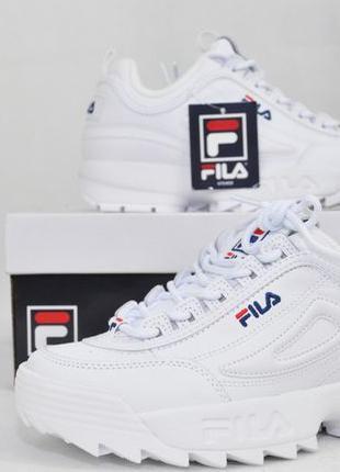 ОРИГИНАЛ! 38 р, Fila disruptor II 2 premium, женские кроссовки...