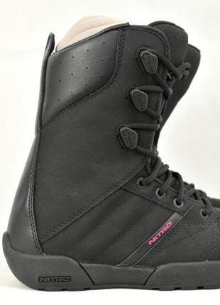 37р, Nitro Sanction женские ботинки для сноуборда, черевики va...