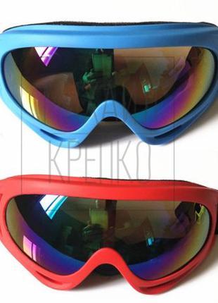 Горнолыжная маска взрослая, очки сноуборд лижні, велосипед/мот...