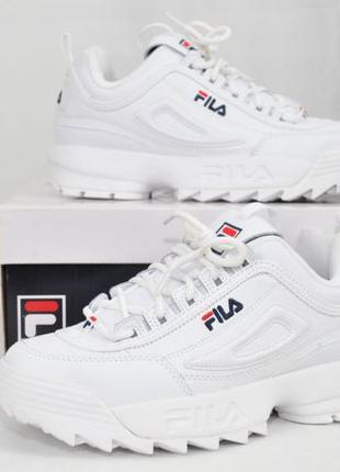 ОРИГИНАЛ! 38,39 рр, Fila disruptor II 2 premium женские кроссо...