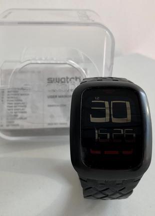 Часы swatch черные сенсорные женские