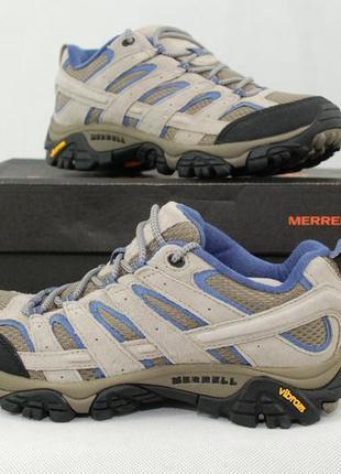 Merrell moab 2 vent женские треккинговые кроссовки vibram тури...