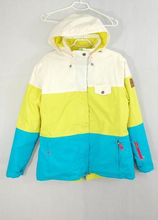 Wedze, женская лыжная термо куртка синтепон, зимняя спортивная...