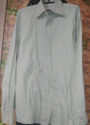 Matinique фирменная рубашка/сорочка (style: curtis)  с закрыты...