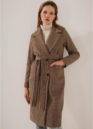 2020! valentir шерстяное пальто длинное класическое гусиная лапка