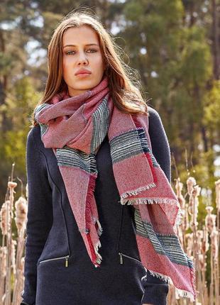Теплый женский шарф от tchibo германия