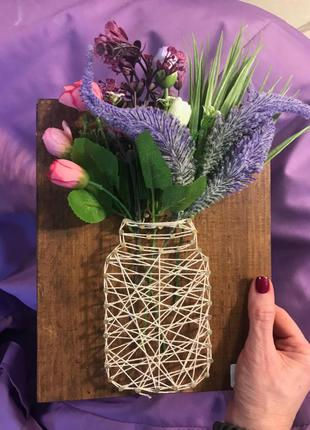 Наборы для творчества техникой String art