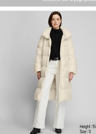 Пальто uniqlo m