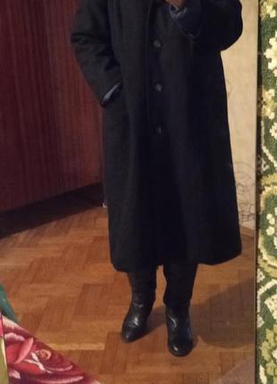 Распродажа! классическое демисезонное шерстяное пальто  azuri ...