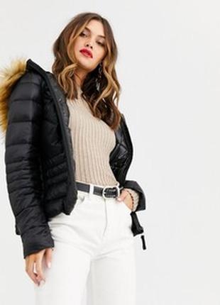 Уценка! теплая зимняя куртка на натуральном пуху vera moda