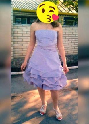 Французское нарядное праздничное вечернее  платье