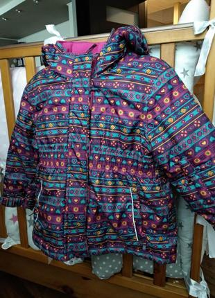 Зимняя термокуртка kiki&koko 92. зимова куртка
