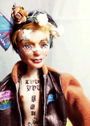 Ооак кукла мальчик Кен на основе Монстер Хай Monster Hai