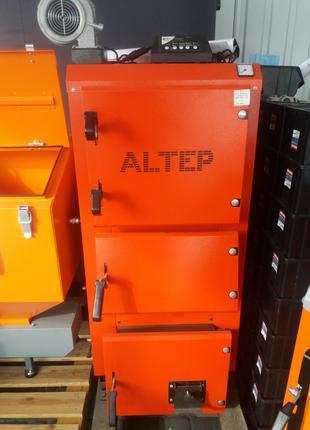 Котёл на твердом топливе Altep DUO PLUS 17 кВт Автоматика