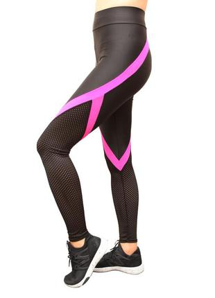 Спортивные лосины женские ,высокий пояс,бег,фитнес,йога
