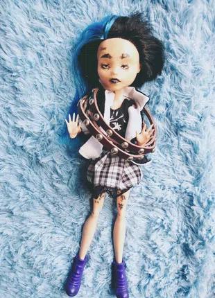 Кукла Ооак Монстер Хай Monster Hai фанатка рок-н-ролл