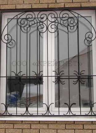 Решетки на окна и двери, сварные и кованные, г. Николаев