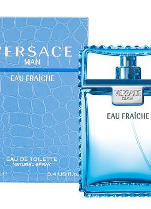 ДУХИ ПАРФЮМ мужской Versace Man Eau Fraiche 100 ml (ОАЭ)