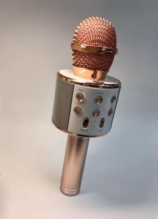 Беспроводной караоке микрофон Новый