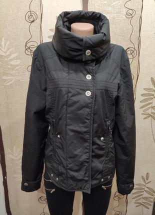 Broadway. черная демисезонная куртка, ветровка