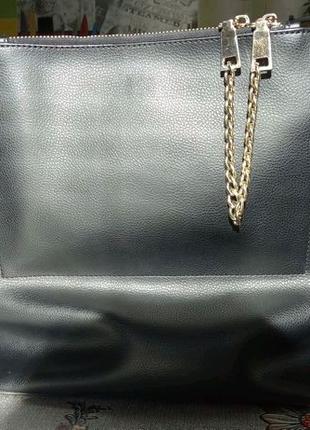 Идеальная кожаная сумочка Basconi