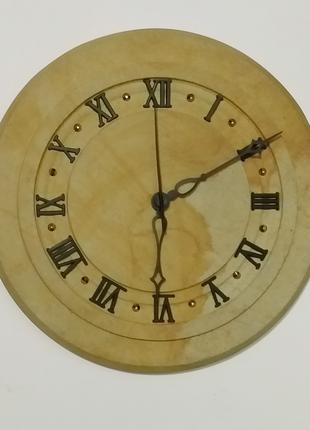 Часы настенные декоративные из природного камня