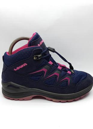 Оригинальные детские термо ботинки lowa (мембрана gore-tex)