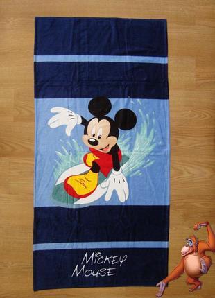 Пляжное полотенце микки маус