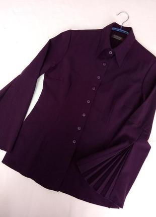 Рукав плиссе очень красивая блуза s-m