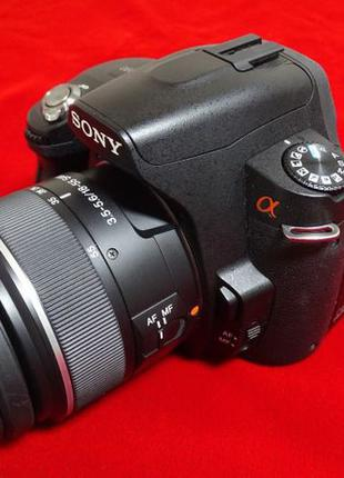 Sony a390 кit 18-55 Гелиос 44-2