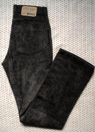 Брендовые джинсы-брюки vinci velur w29,30l34.турция,демисезон