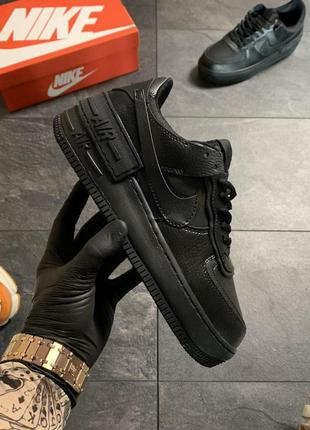 Nike air force 1 jester black .