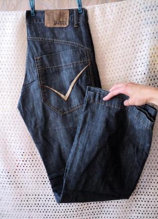 Брендовые джинсы-брюки vinci турция w29-33l34,100% хлопок.лето