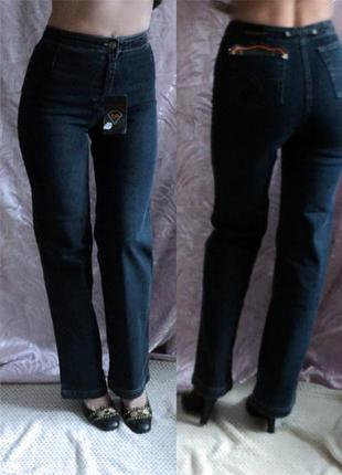 Прямые джинсы с завышенной талией от delfin. турция w29l32,дем...