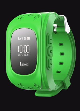 Детские умные часы с GPS трекером - Q50