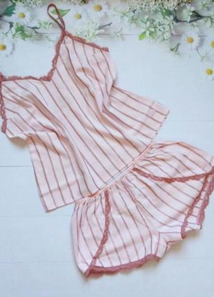 Фланелевая пижама от victorias secret victoria's secret