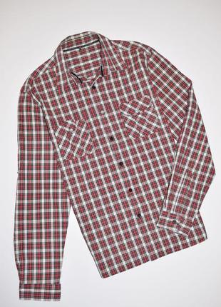 Мужская рубашка в клетку длинный рукав, cedarwood state